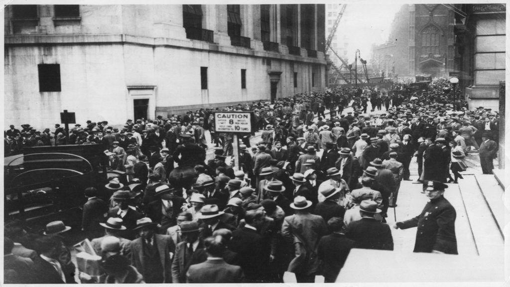 A megbénult termelés miatt súlyosabb válság várható, mint 2008-ban. Fotó: nagy gazdasági világválsá 1929-ben - Getty Images