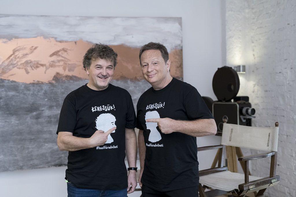 Scherer Péter és Geszti Péter (Fotó: Glódi Balázs)