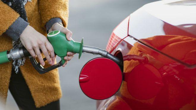 üzemanyag tankolás