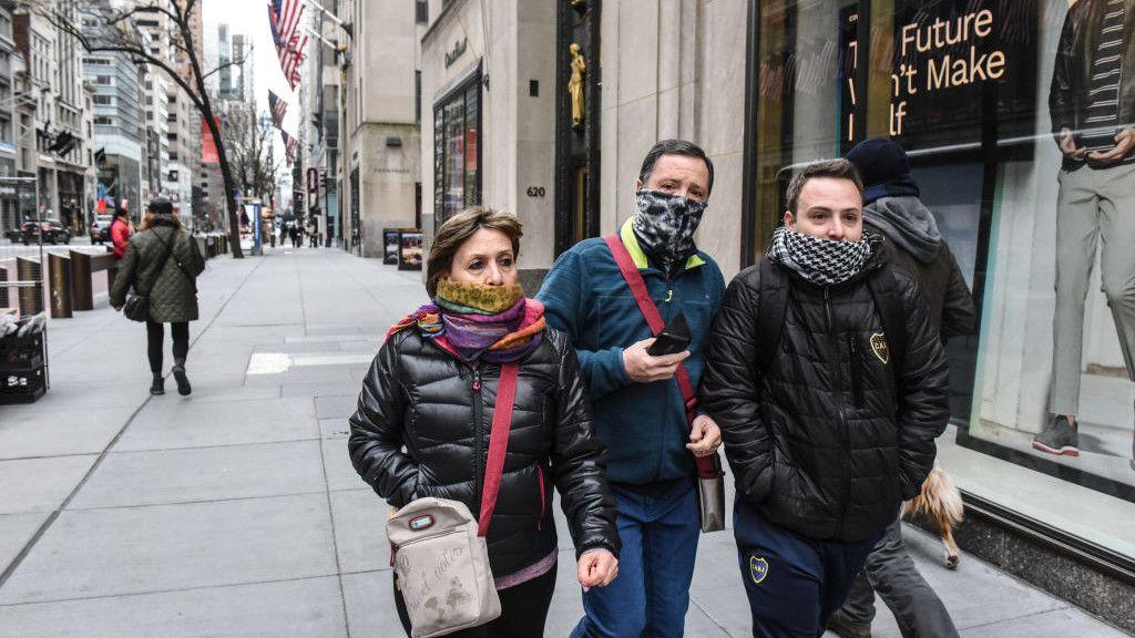 New York, koronavírus