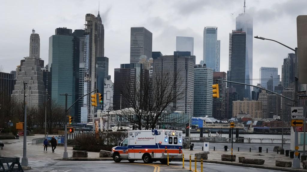 new york koronavírus mentők
