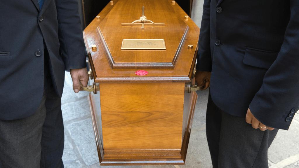 koporsó temetés
