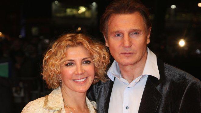 Liam Neeson és Natasha Richardson 2008-ban (Fotó: Chris Jackson/Getty Images)