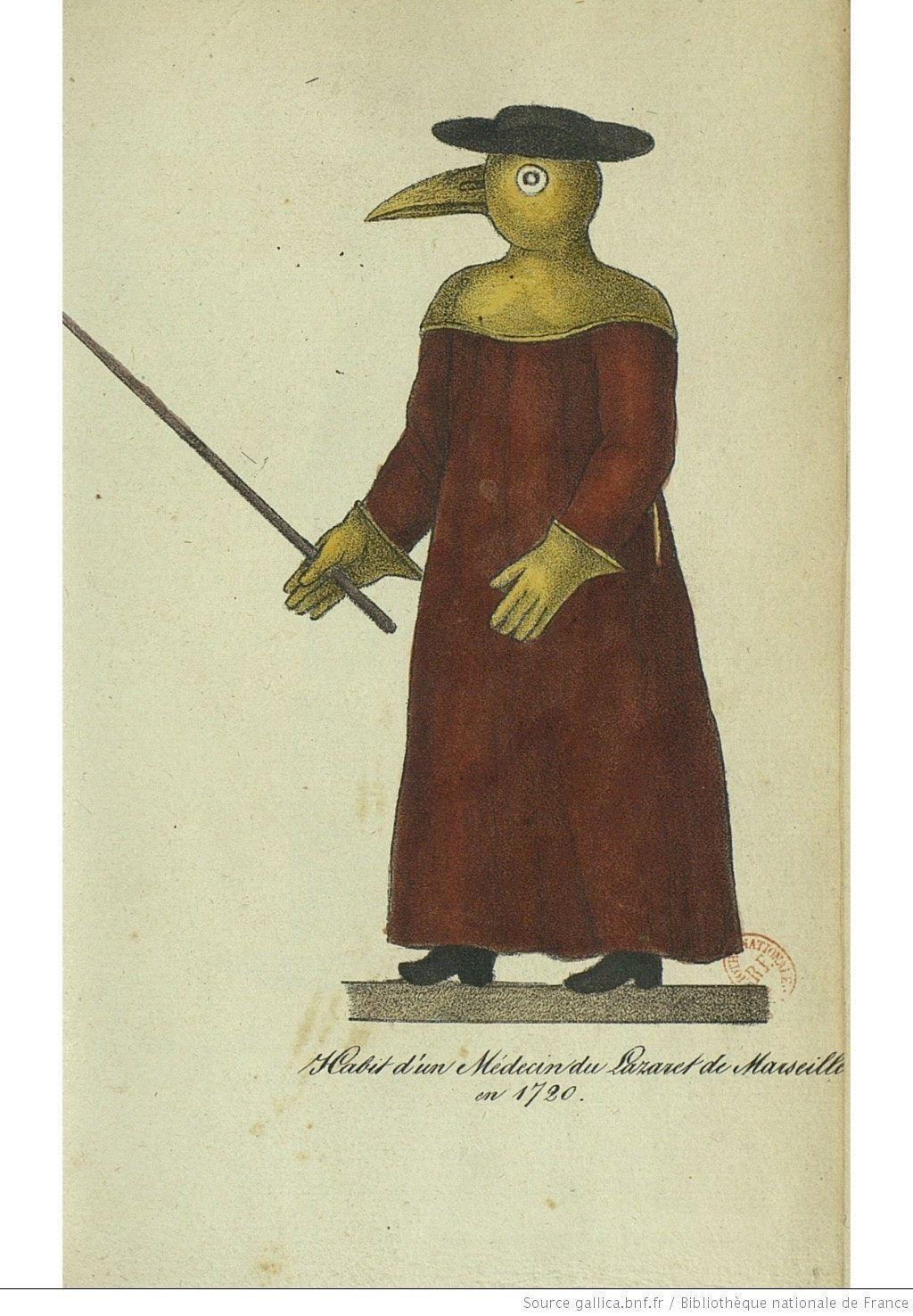 A marseille-i járvány idejéből (forrás: gallica.bnf.fr)