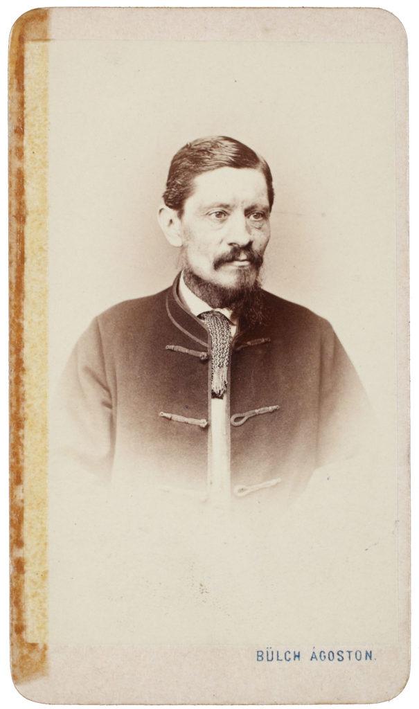 Horvát Árpád 1866. augusztusában (Fotó: Bülch Ágoston)