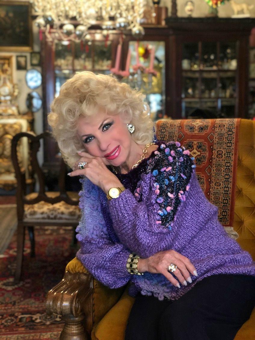 Medveczky Ilona nemrég volt 79 éves (fotó: Medveczky Ilona)