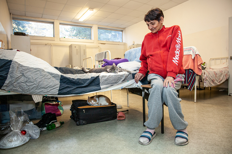 nőnap hajléktalanszálló