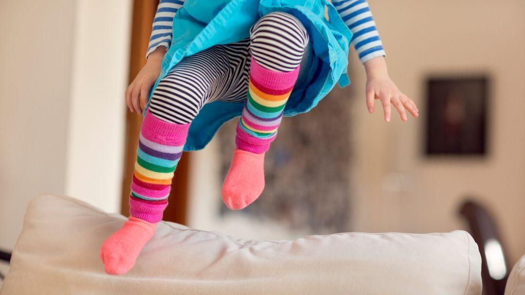 Mozogjon sokat a gyerek a négy fal között is!
