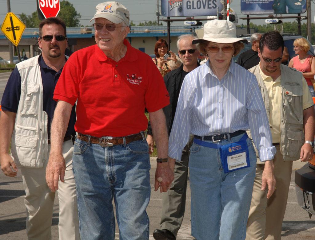 Jimmy Carter és felesége idén ünnepli 74. házassági évfordulójukat