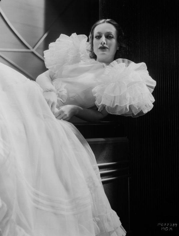 Joan Crawford az Utolsó lépés c. filmben (Fotó: George Hurrell/John Kobal Foundation/Getty Images)