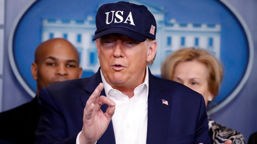Donald Trump, koronavírus
