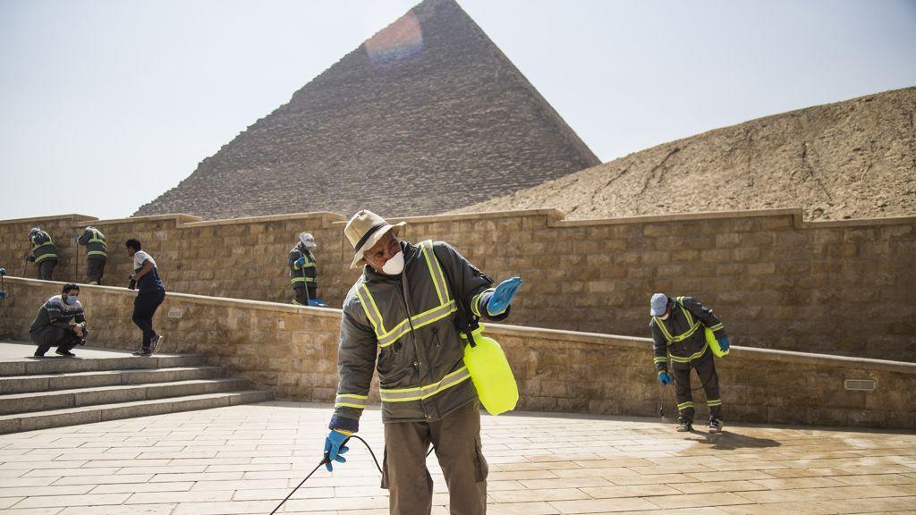 Egyiptom, koronavírus