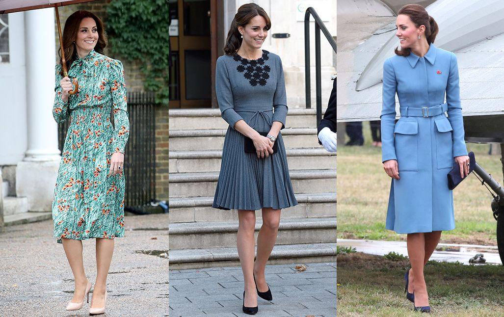 Katalin hercegnével szemben elvárás is a konzervatívabb, klasszikus öltözködés.
