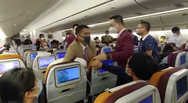 koronavírus ellenőrzés repülő kínai