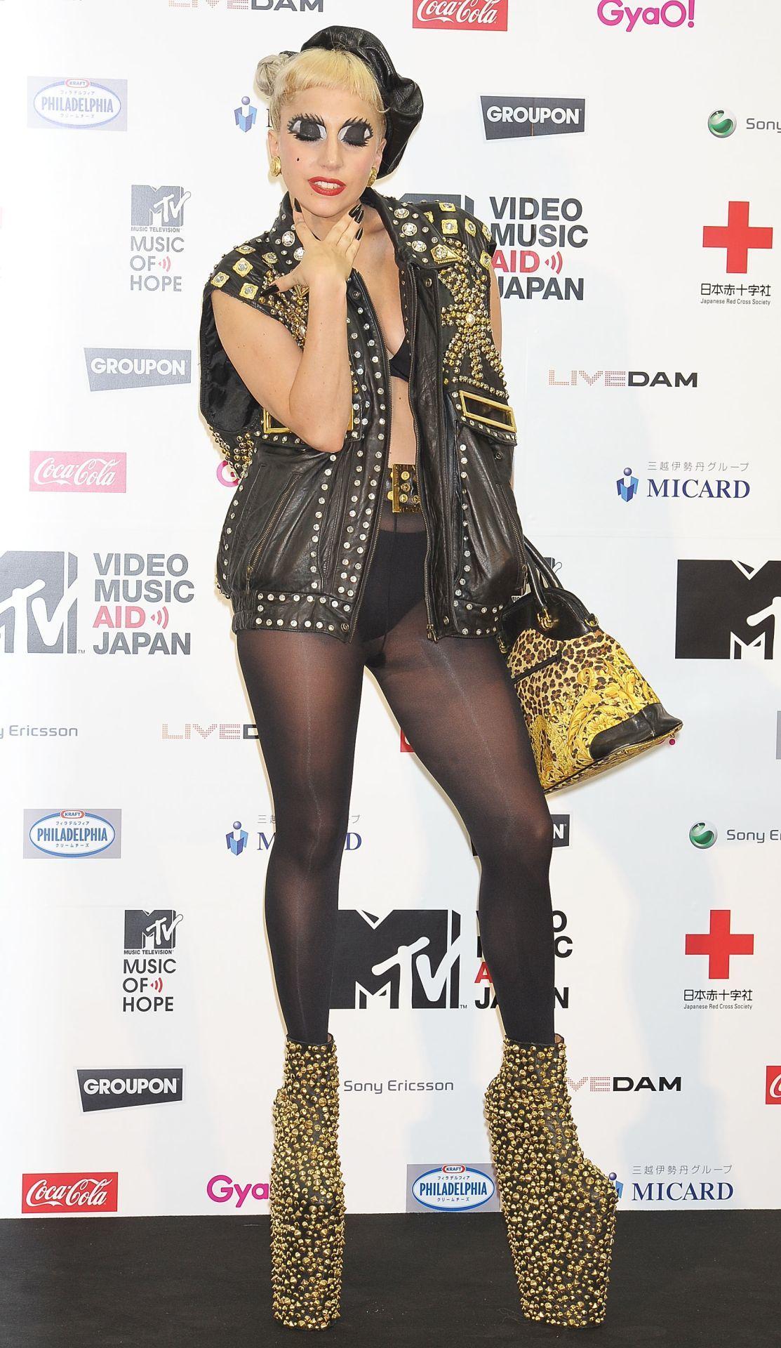 Lady Gaga a 2011-es MTV Video Music Aid Japan rendezvényen