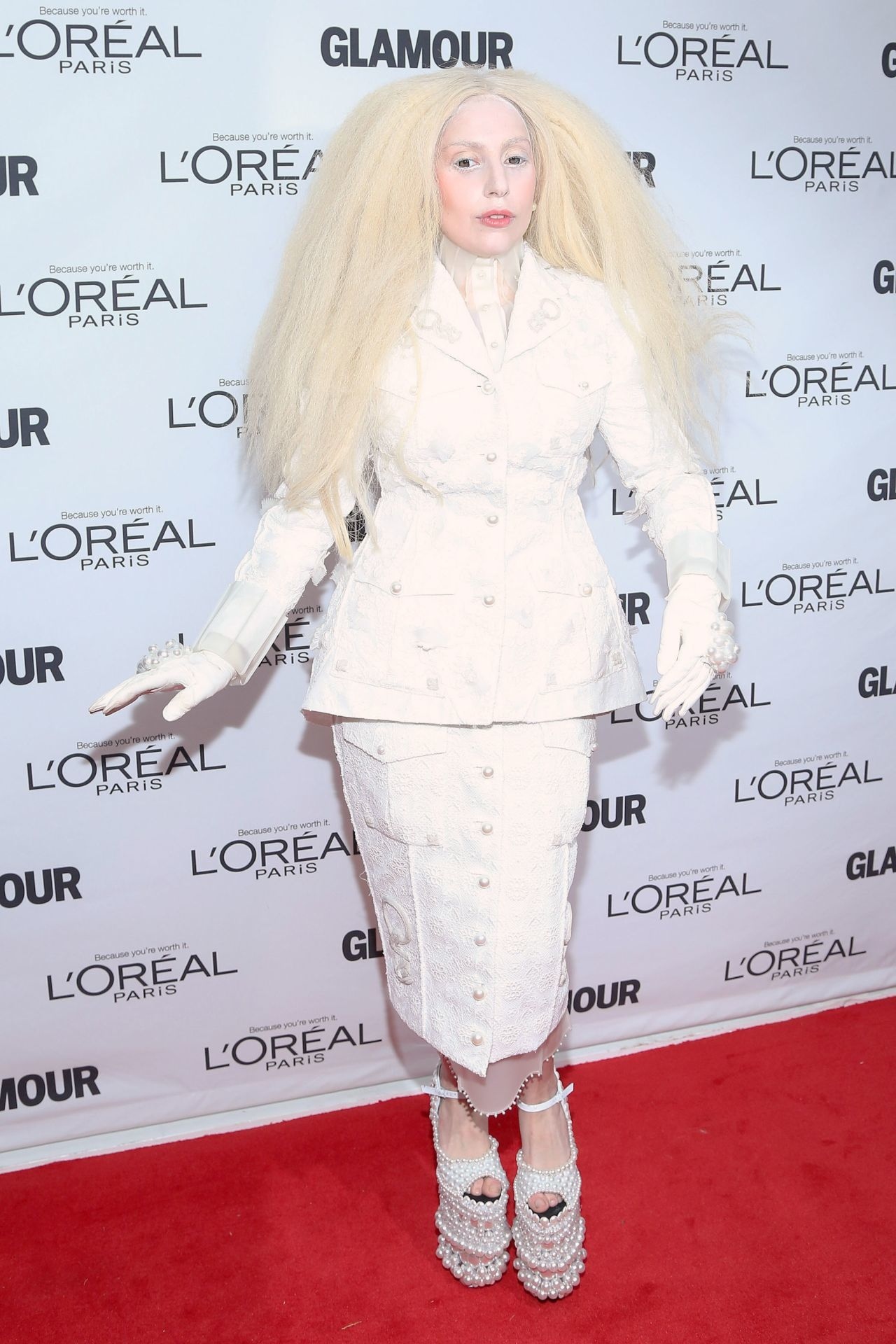 Lady Gaga a Glamour 2013-as Women Of The Year gáláján