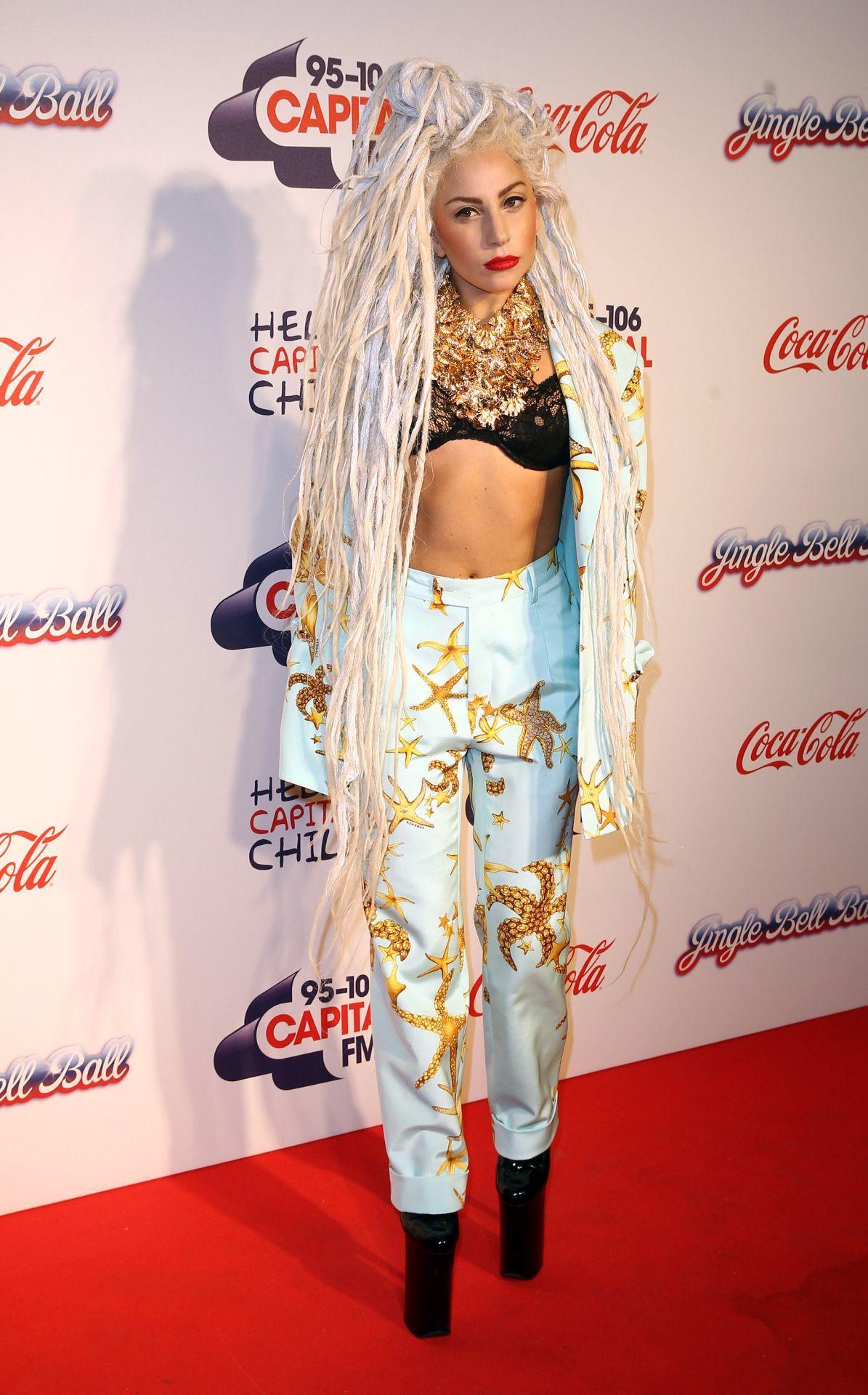 Lady Gaga egy londoni eseményen 2013-ban