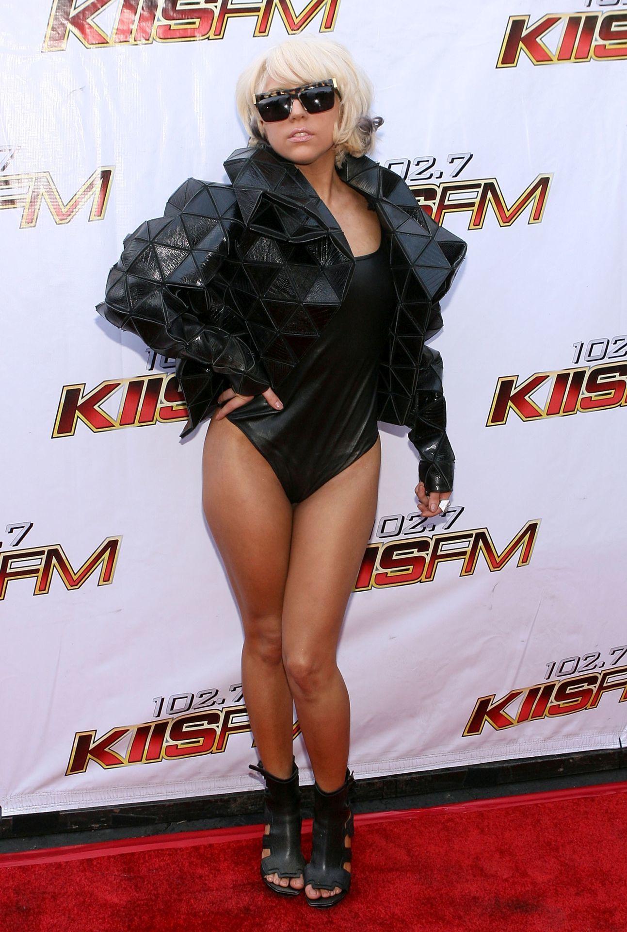 Lady Gaga egy 2009-es rendezvényen Irvine-ban, Kaliforniában.