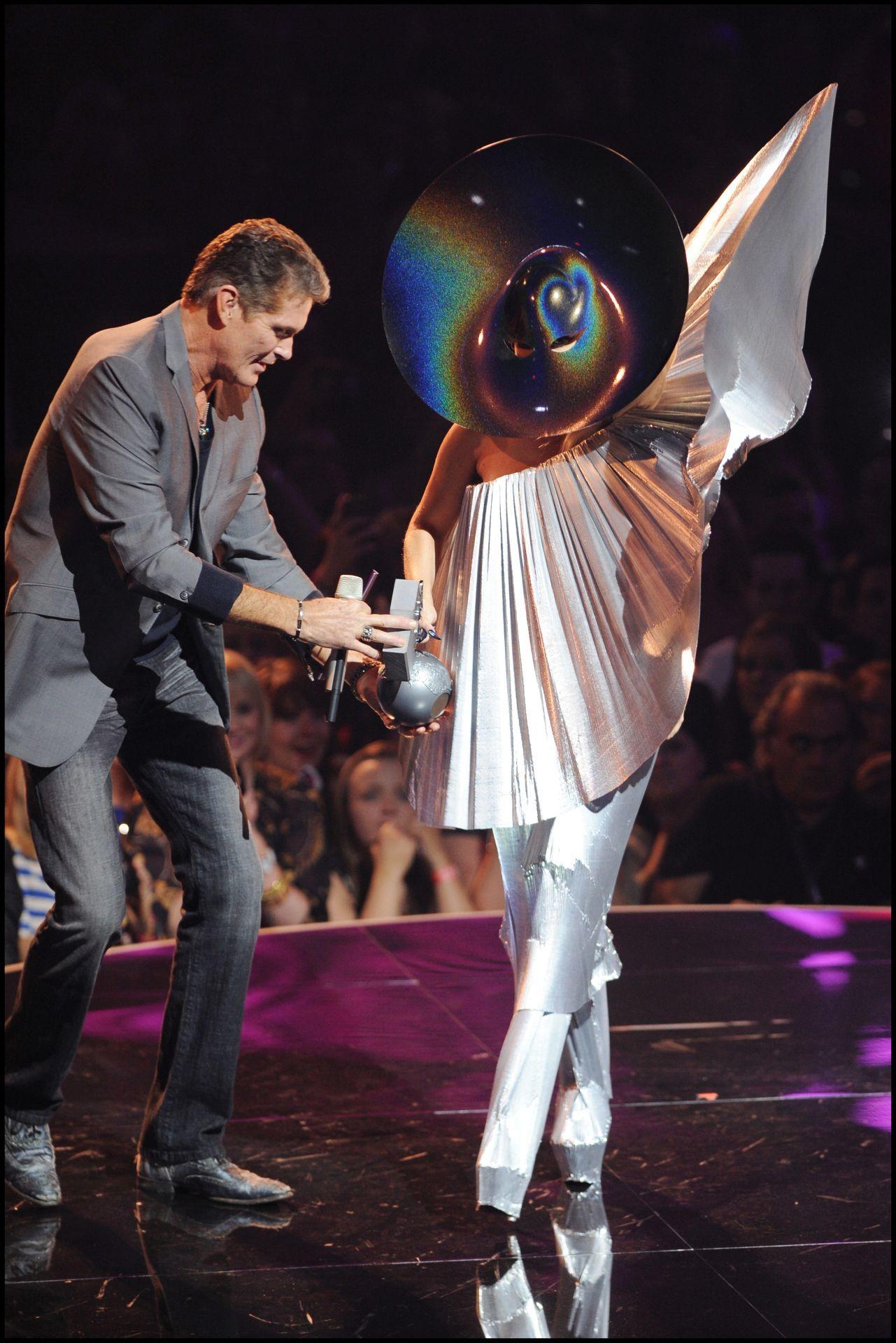 Lady Gaga a 2011-es MTV EMA-n.