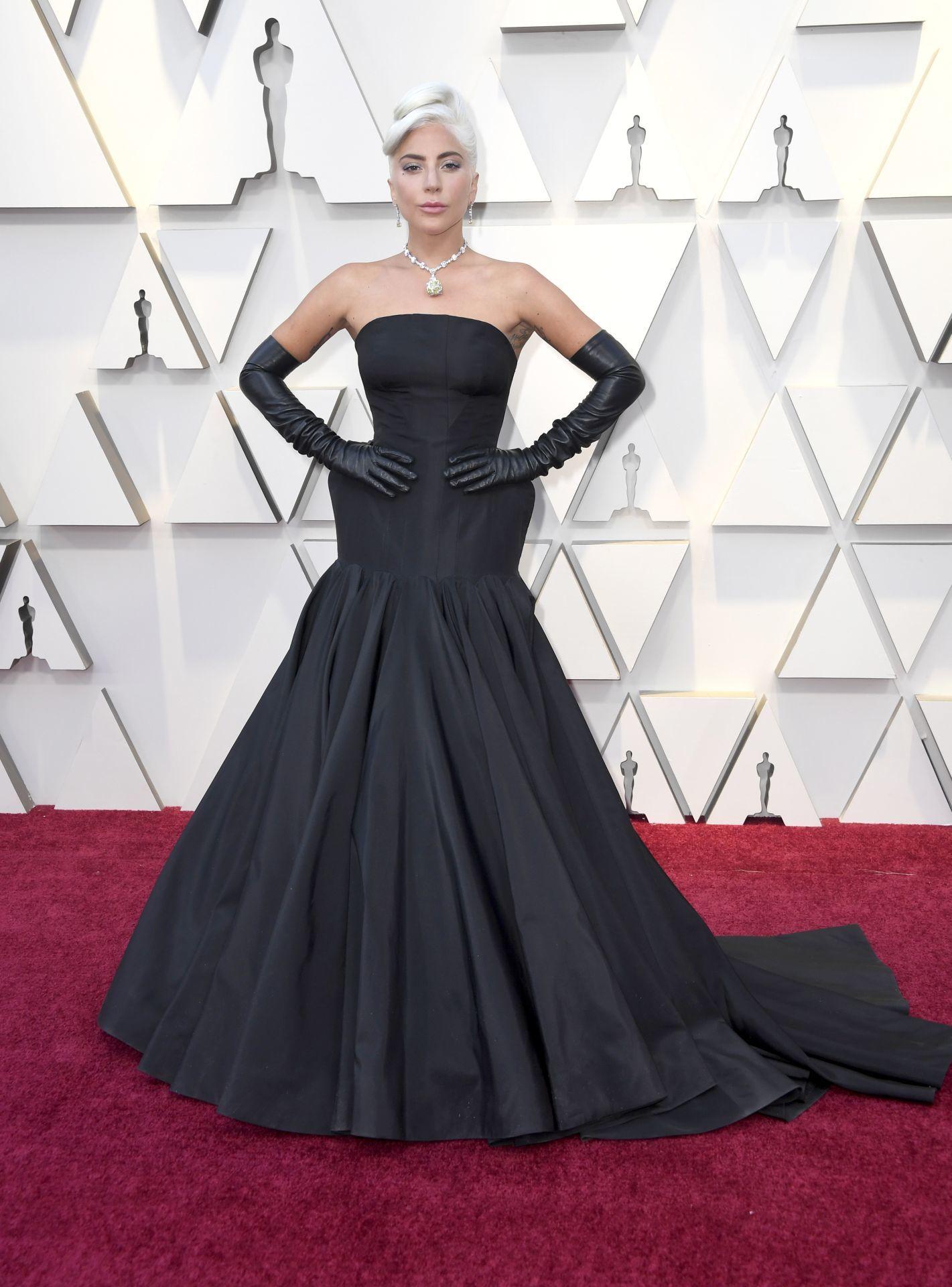 Lady Gaga a 2019 Oscar-gálán (Fotó: Frazer Harrison/Getty Images)