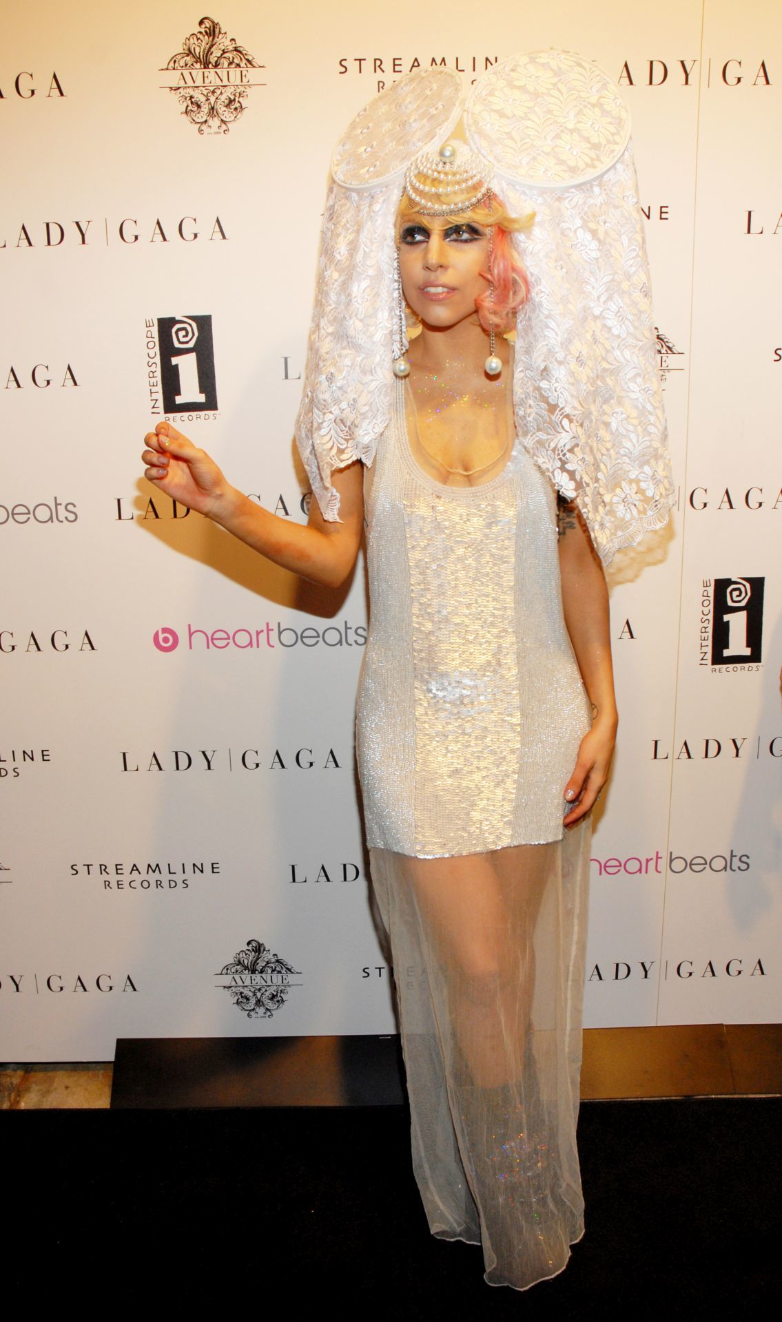 Lady Gaga a 2009-es MTV VMA díjátadó after party-n. (