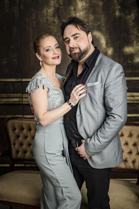 Létay Dóra és párja Éliás Gyula Jr. (Fotó: Schumy Csaba)