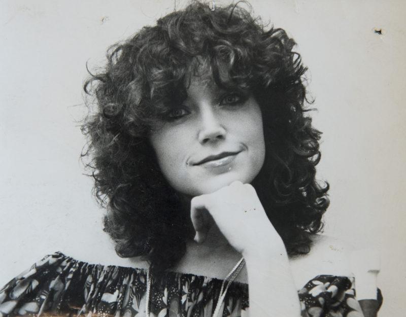 Liener Márta, a Sugár Üzletközpont egykori háziasszonya, reklámarca - Fotó: smagpictures.com