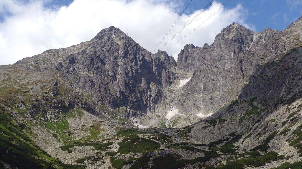 A Lomnici-csúcs a Magas Tátrában (Fotó: Wikipédia)