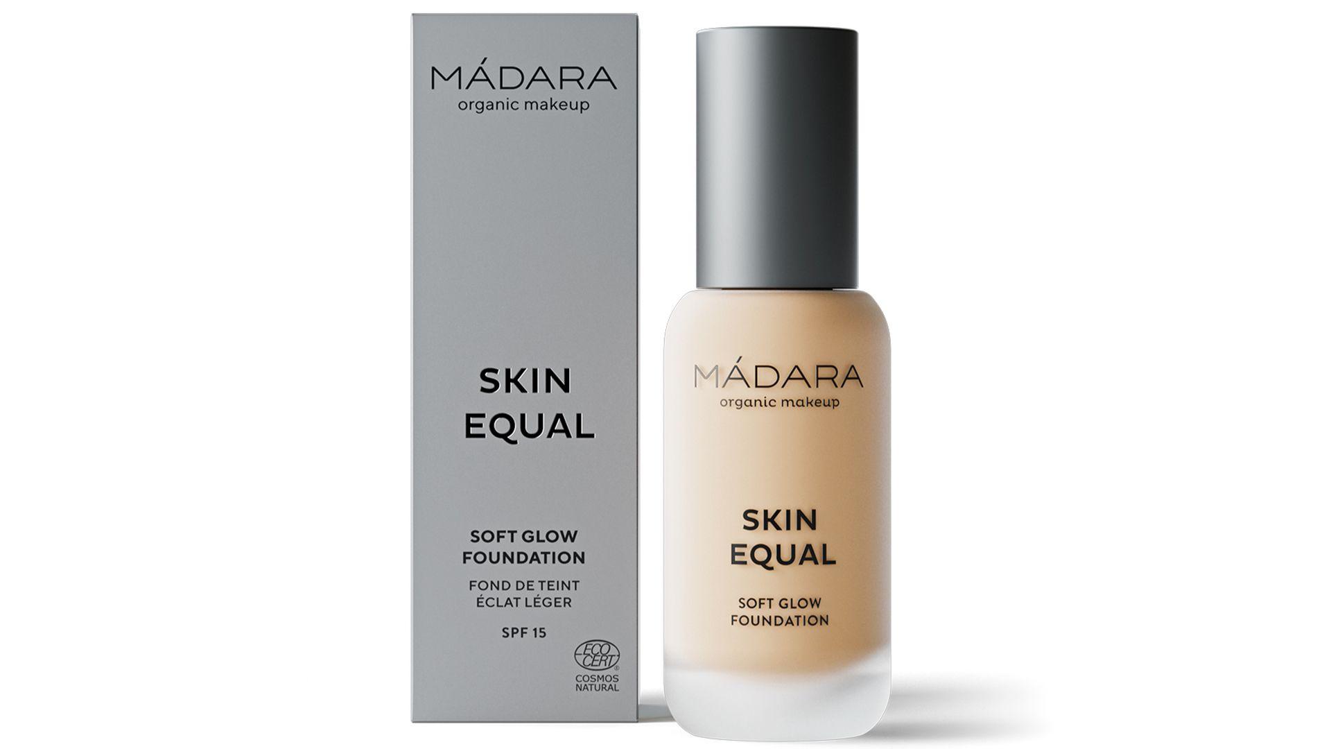 Mádara -Skin Equal Soft Glow Folyékony alapozó, SPF 15
