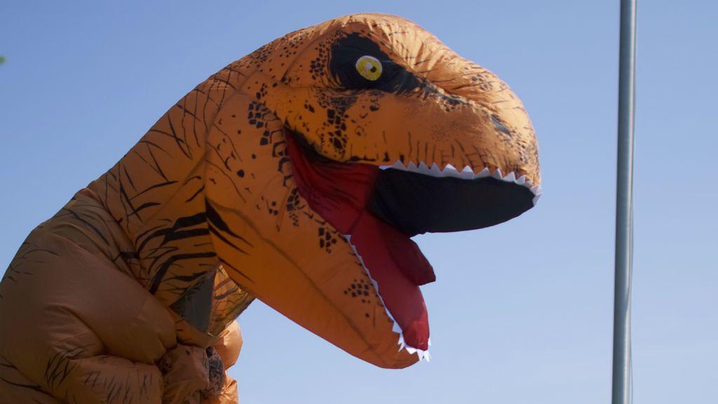 t-rex jelmez