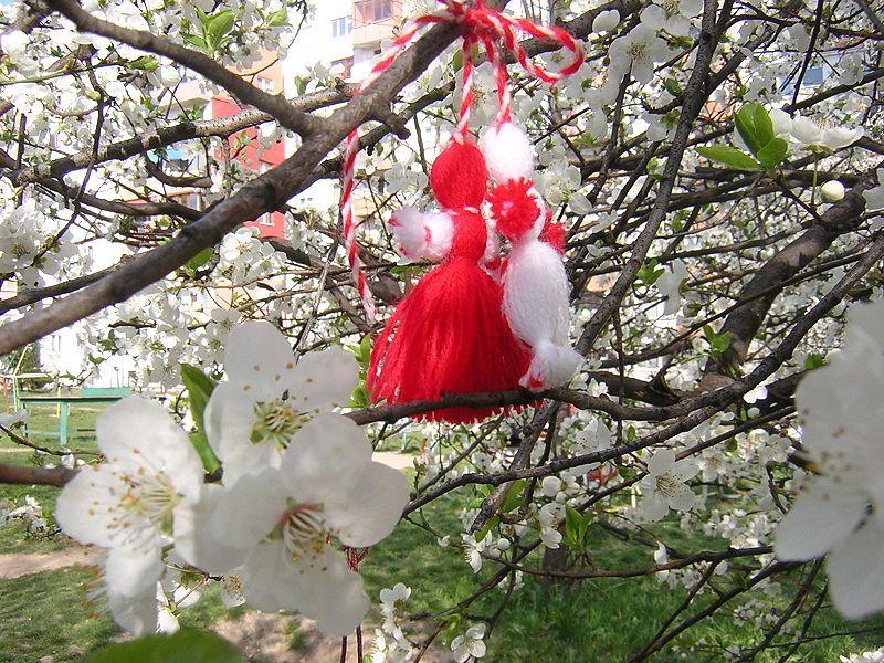 tavasz március tavaszköszöntés bulgária