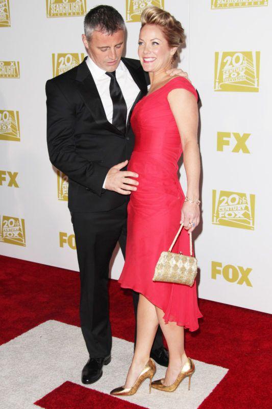 Matt LeBlanc és Melissa McKnight a 2013-as FOX Golden Globe afterparty-n (Fotó: Tommaso Boddi/WireImage)