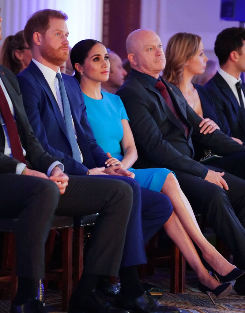 Meghan Markle és Harry herceg a rendezvényen (Fotó: Paul Edwards - WPA Pool/Getty Images)