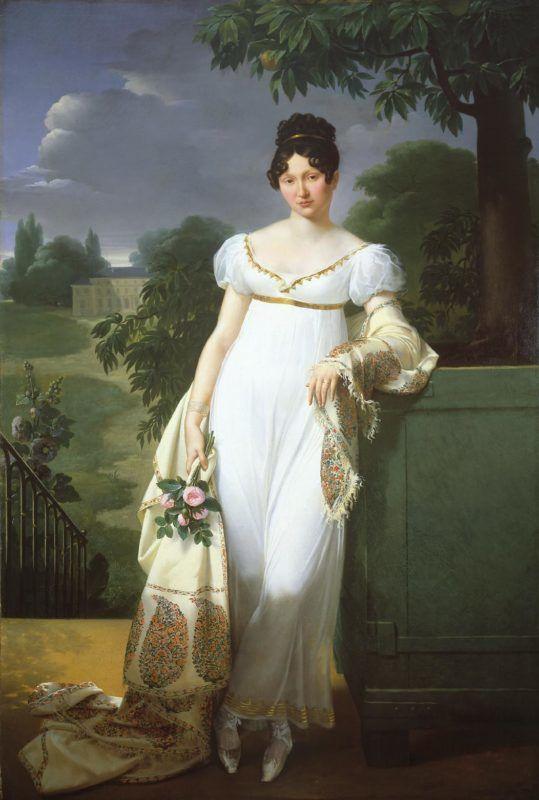 Blondel - Félicité Louise Julie Constance de Durfort portréja (1782-1870)