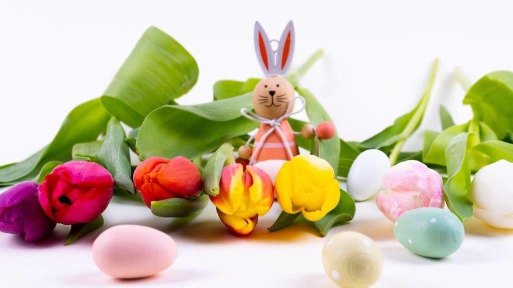 Húsvéti dekoráció virágból