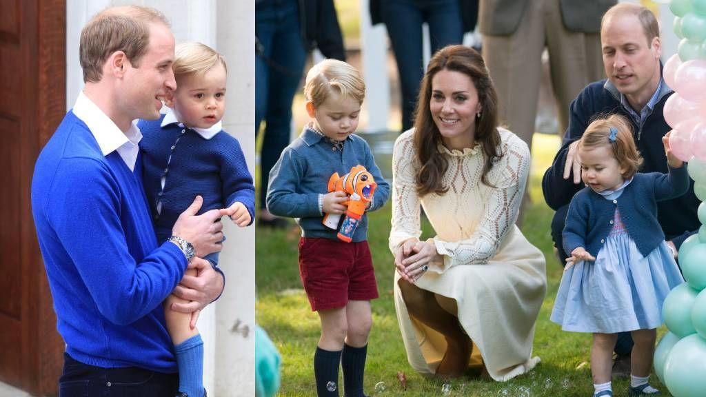 György herceg és Sarolta hercegnő közös pulóvere