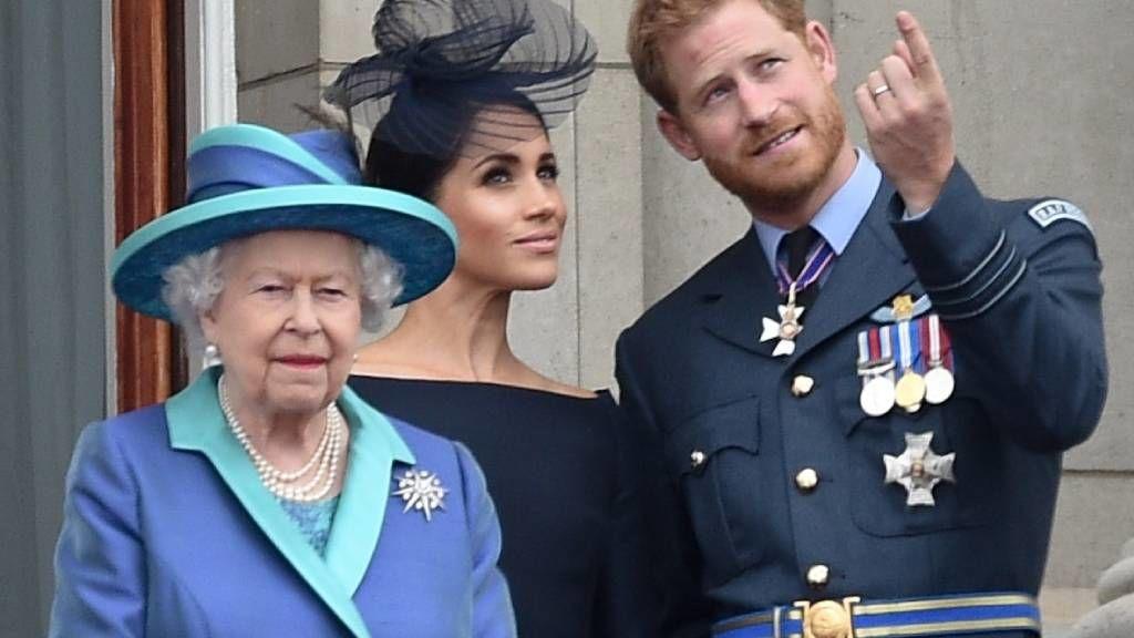 Meghan Markle, Harry herceg és II. Erzsébet