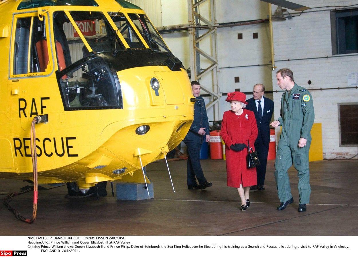 Vilmos herceg a katonaságban is pilótaként szolgált.