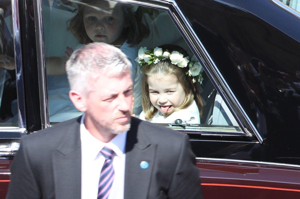 A pimasz Sarolta hercegnő volt az egyik koszorúslány Harry herceg esküvőjén