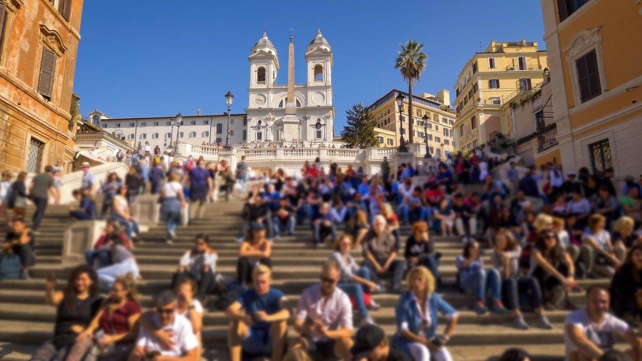 Róma Spanyol lépcső