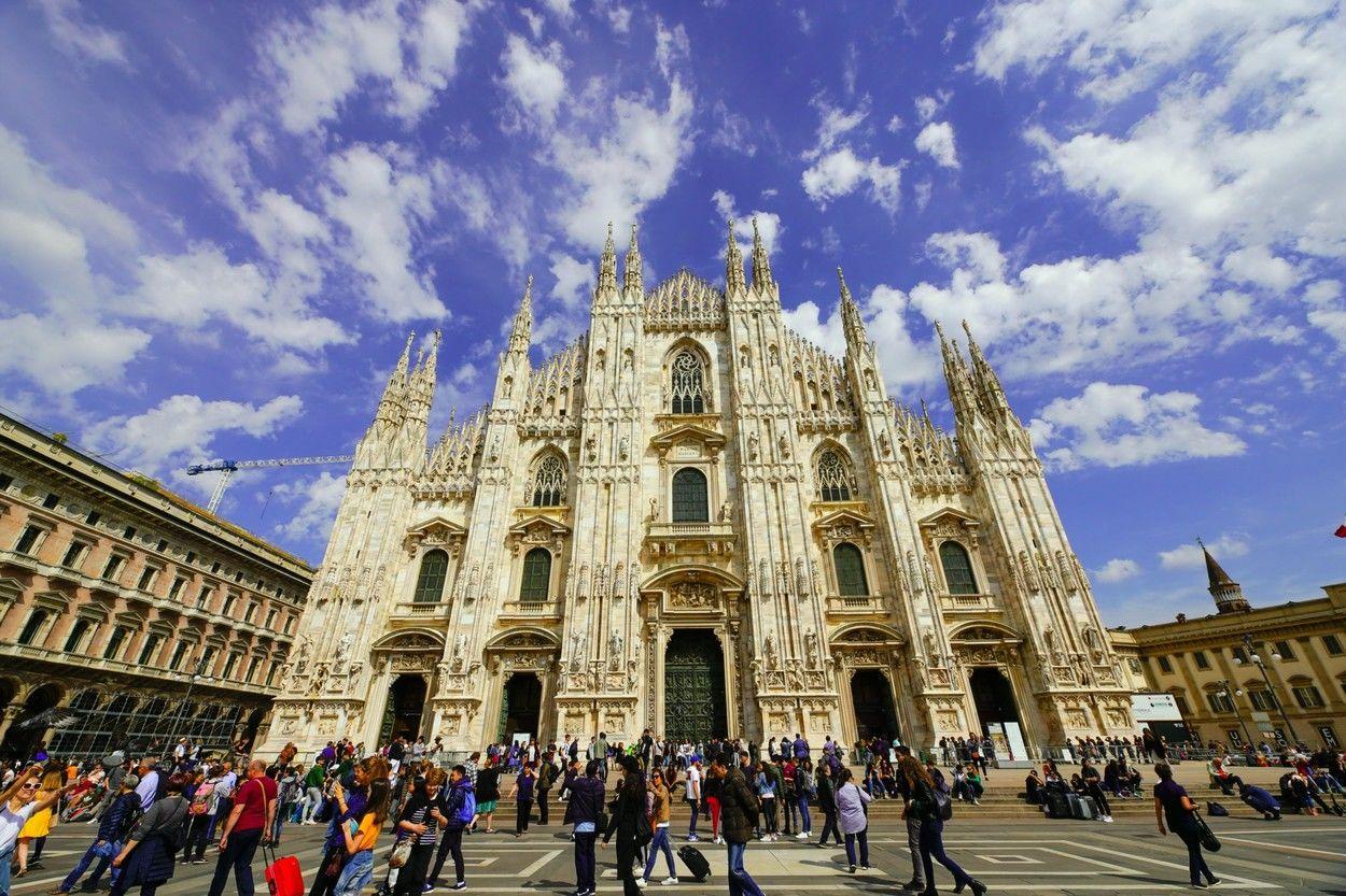 Milánó a koronavírus előtt