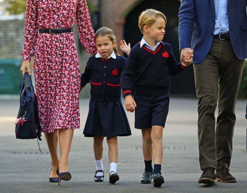 Sarolta hercegnő és György herceg is otthon folytatják az iskolát