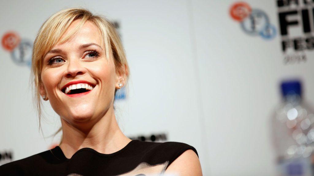Reese Witherspoon a Vadon c. film londoni sajtótájékoztatóján (Fotó: Tim P. Whitby/Getty Images for BFI)