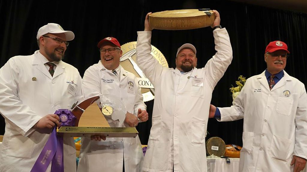 A nyertes brigád / Fotó: World Championship Cheese Contest Facebook