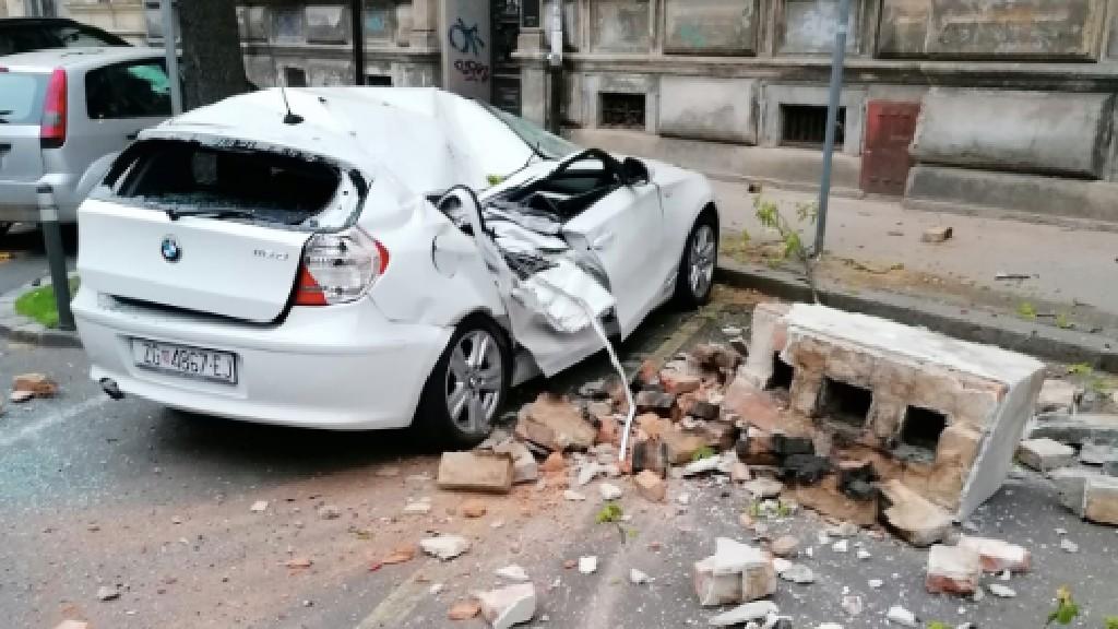zágráb földrengés járvány