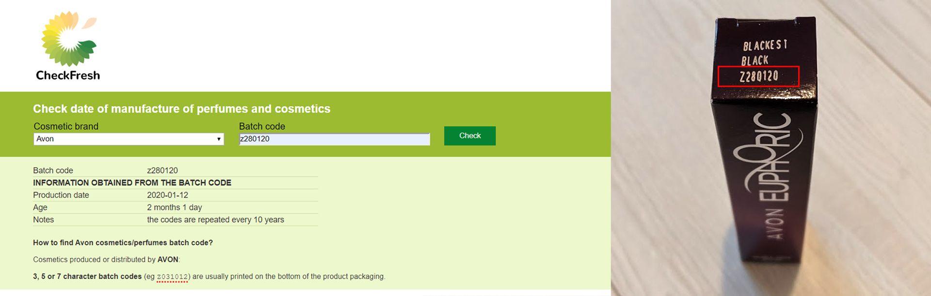 A batch code ellenőrzése nagyon hasznos, megtudhatjuk, mikor gyártották az adott sminkterméket.