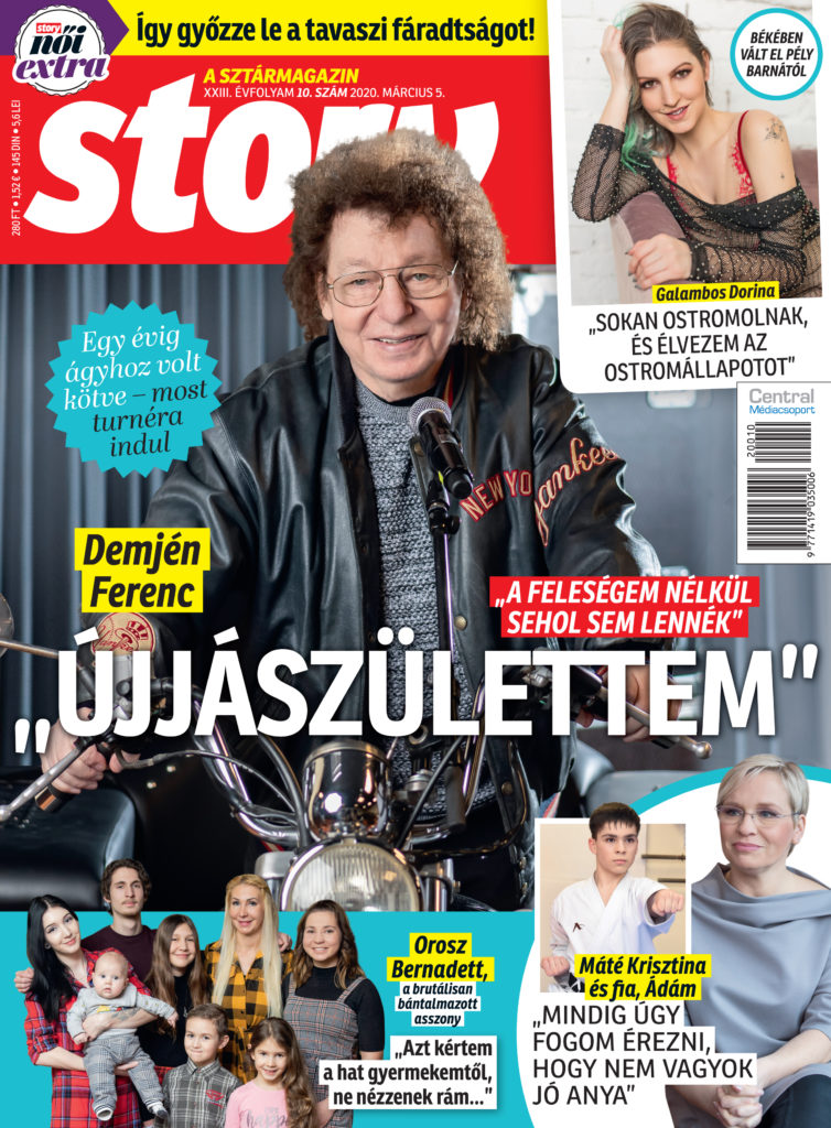 A Story magazinnak mesélt Demjén Ferenc