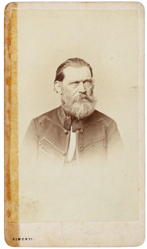 Szendrey Ignác (Fotó: Simonyi Antal, a kép 1855. után készülhetett)