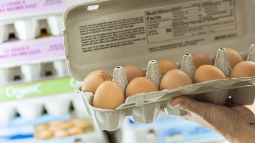 A tojástermelők fokozott higiéniai protokollokat vezettek be a koronavírus miatt (Fotó: Getty Images)