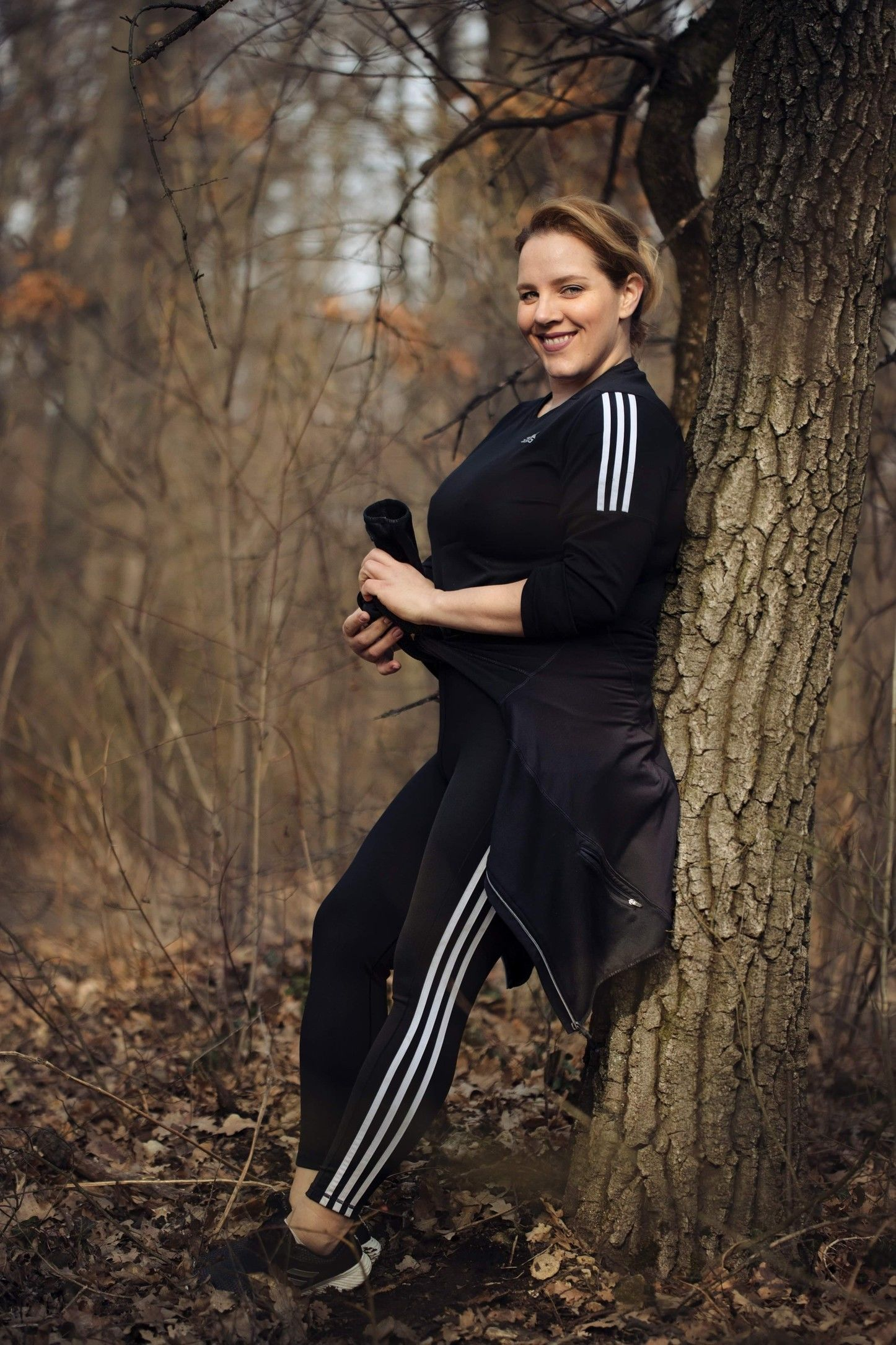 Tóth Vera is alternatív módot választott az edzéshez (Fotó: Adidas)